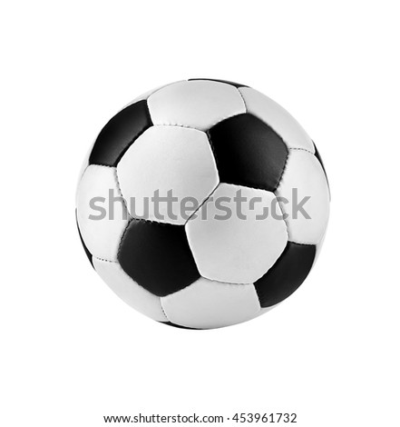 Soccer ball, isolated on white #453961732