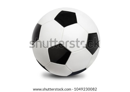 Soccer ball isolated on white background #1049230082