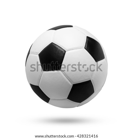 soccer ball isolated on white background. #428321416