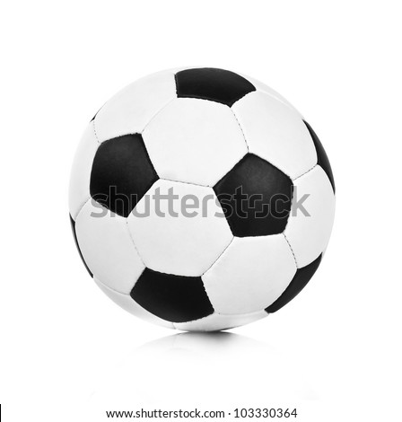 soccer ball on a white background #103330364