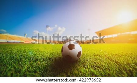 Soccer ball on the grass in soccer stadium , sunset. soccer. soccer. soccer. soccer. soccer. soccer. soccer. soccer. soccer. soccer. soccer. soccer. soccer. soccer. soccer. soccer. soccer. soccer.