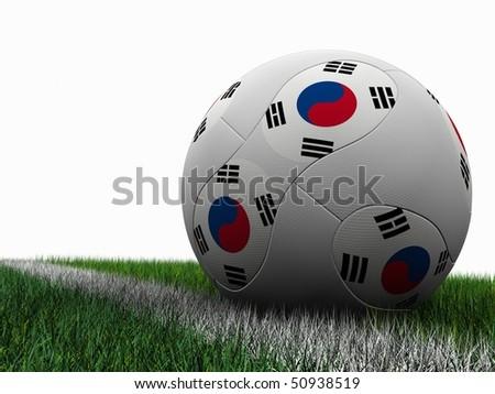 Soccer Ball South Korea
