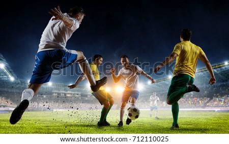 Soccer best moments. Mixed media #712110025