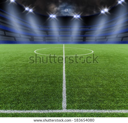 Grass Soccer Stadiums Soccer Field Grass in Stadium