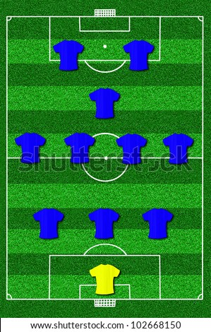 Soccer Field Diagram Player Positions Bigking Keywords And Pictures