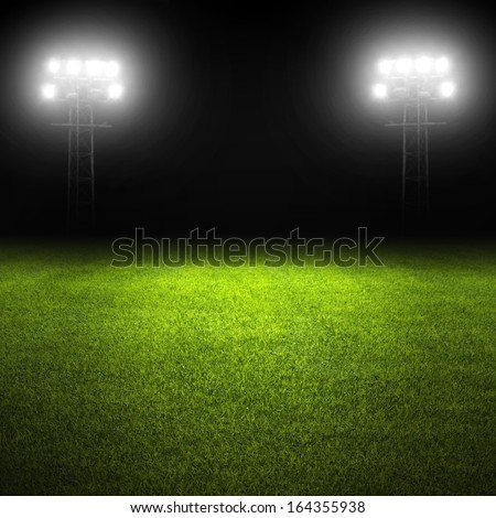 Grass Soccer Stadiums Grass And Stadium Lights