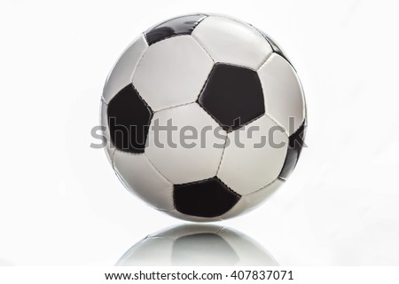 soccer football ball isolated on white background