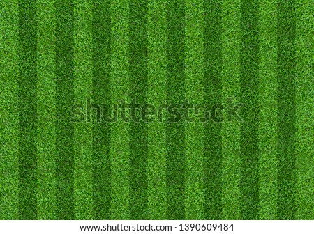 Soccer football field pattern for background.