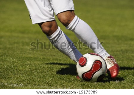 soccer,football, player with a ball