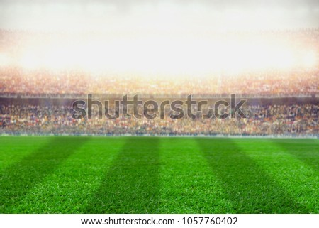 soccer football stadium background #1057760402