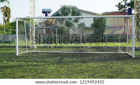 Soccer Goal or Football Goal #1219492435