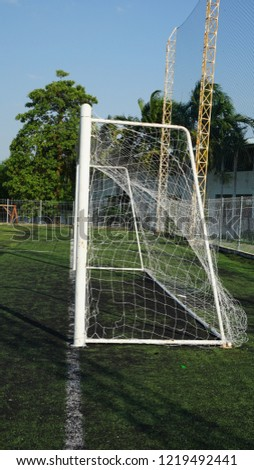 Soccer Goal or Football Goal #1219492441
