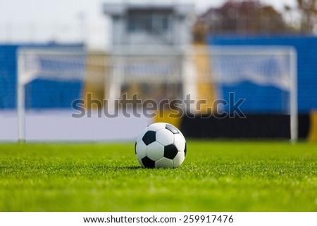 Soccer, Goal, Soccer Ball. #259917476