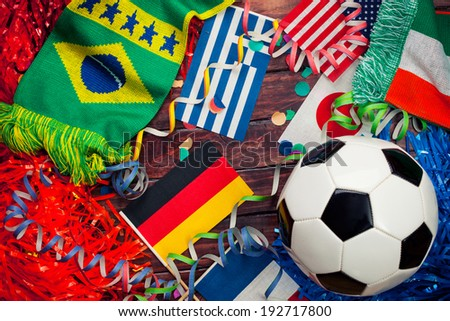 stock photo: soccer world cup