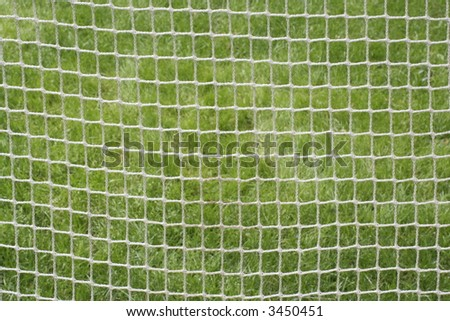 Soccer Net Against Spring Grass Stock Photo 3450451 : Shutterstock