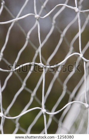 Soccer Net Close Up