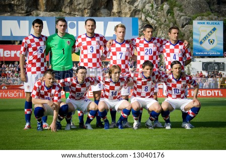 soccer or football (croatian football selection)