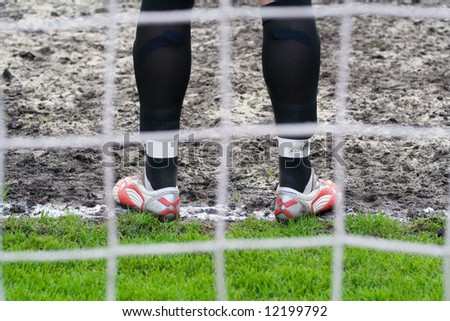 soccer or football goalkeeper
