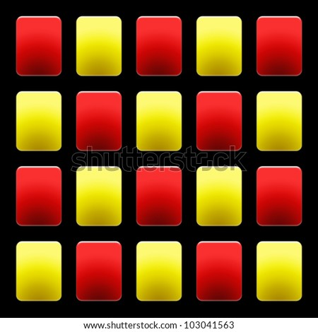 Soccer Red and Yellow Cards Wallpaper