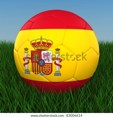 Soccer - Spain - stock photo