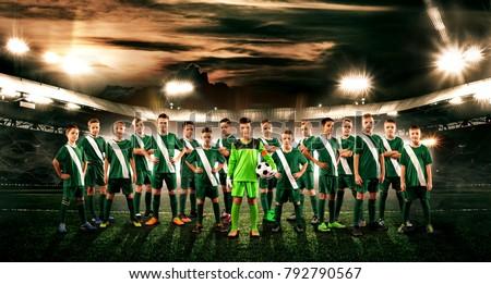 soccer team. kids   future...