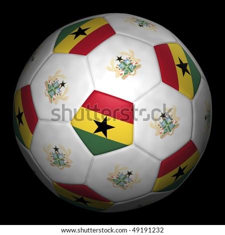 Soccer World Cup, Group D, Ghana - stock photo