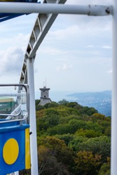 Sochi tower mountain big Akhun panorama
