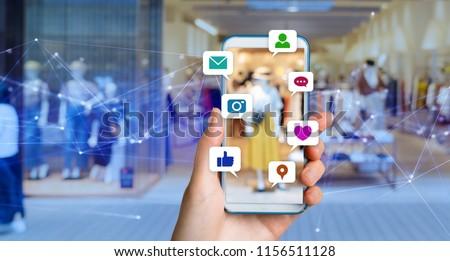 Social media concept. #1156511128