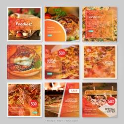 Social Media Instagram Food Yellow deed