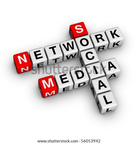 Social Media Network (from crossword series)