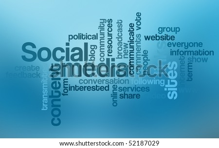 Social media - Word Cloud