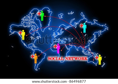 Social network search engines with people plus