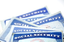 Social Security Cards for identification and retirment USA