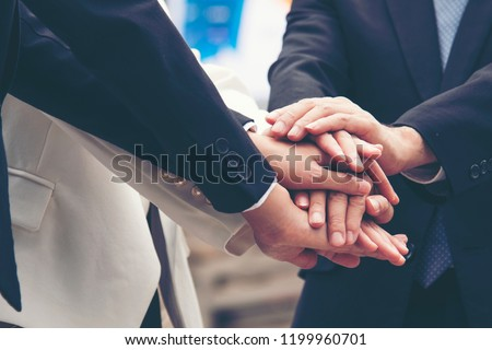 Social work corporate company concept appreciation team trustworthy honor business valuable for responsible collaboration honesty teamwork. Dealing Business Motivated Honest Businessman Teamwork