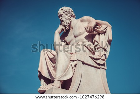 Socrates, ancient greek philosopher