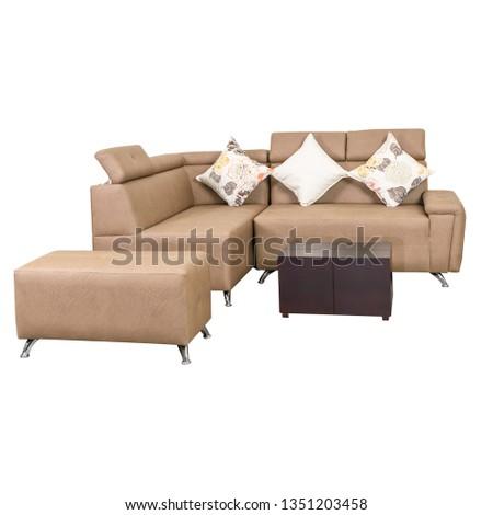 sofa browun minimalism