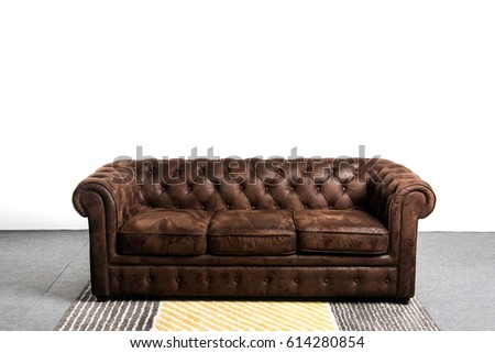 sofa chester in an interior...
