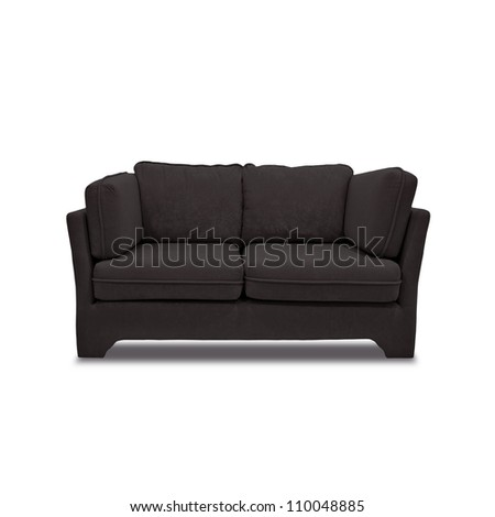 sofa furniture isolated on white background