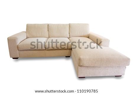 sofa furniture isolated on white background #110190785
