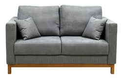 Sofa isolated on white background. Including clipping path