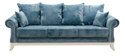 Sofa isolated on white background. Including clipping path.