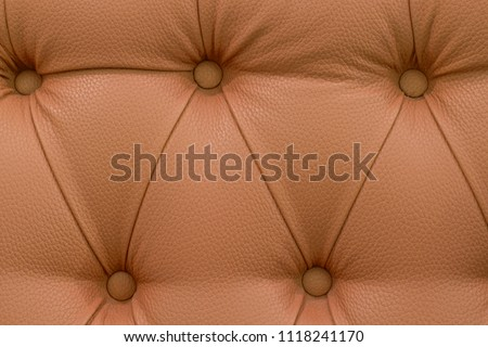 Sofa. Texture of the Sofa. leather sofa. Brown sofa. #1118241170