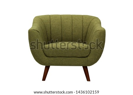 sofa with isolated white background #1436102159