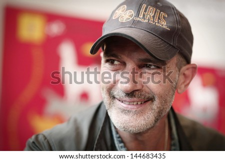 SOFIA, BULGARIA - JUNE 11: Antonio Banderas attends the opening of the 20th edition of the Spanish and Ibero-American cinema week at National Palace of Culture on June 11 2013 in Sofia, Bulgaria.