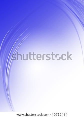 Soft Blue - Blue Background with copy space.