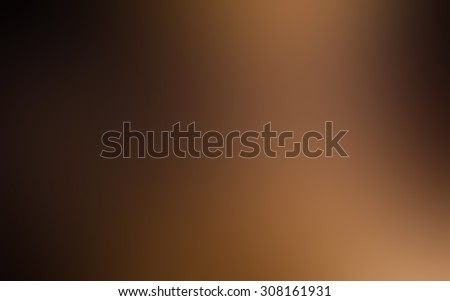 Soft blurred brown gradient background and wallpaper.