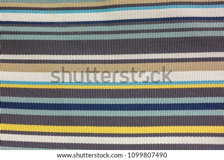 soft carpet in multi-colored stripes #1099807490
