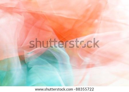 Soft cloth background
