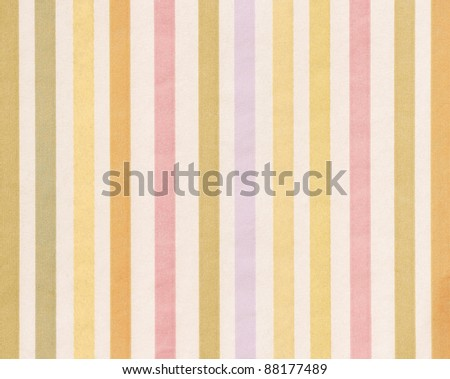 soft-color background with colored vertical stripes (shades of orange pink and blue)