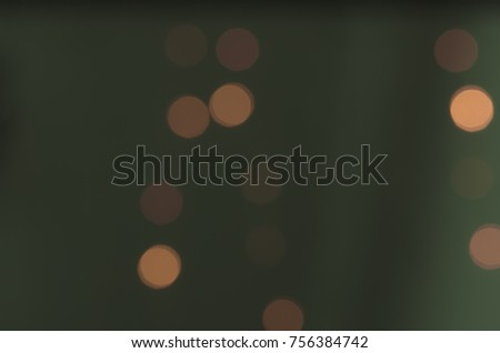 Soft colorful bokeh background. Luminous garlands of electric lights. Copy space to add text. Saturated colors. Blurry abstraction. Gentle tone. Dark night. Festive party in city. Defocus effect. #756384742